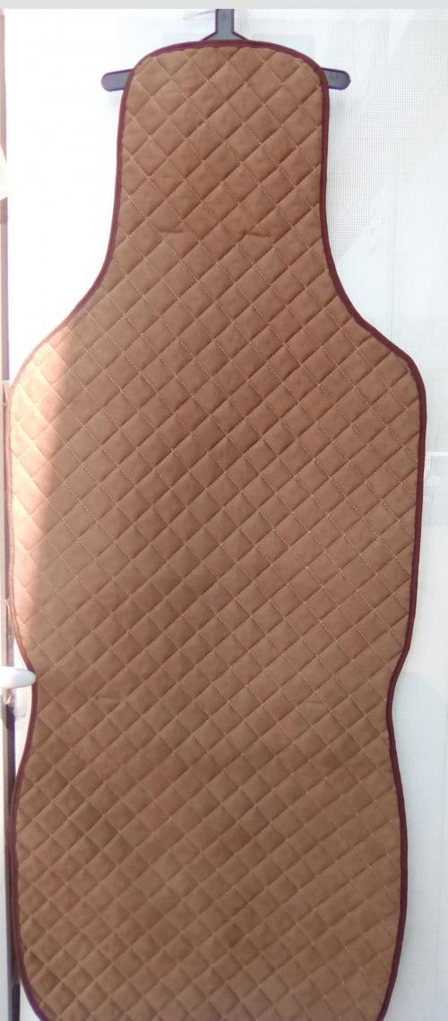 Алькан-тара коричневые